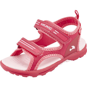 Viking Footwear Skumvaer II Sandalias Niños, dark pink/coral